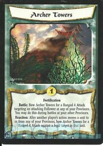 Lord Of The Rings CCG Card MoM 2.R49 Archer Commander