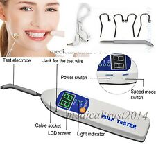 Portable Dentist Dental Pulp Tester Oral Testing Teeth Nerve Vitality Endodontic
