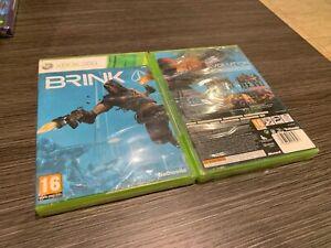 Brink-Xbox-360-Versiegelt-Neu-IN-Spanisch