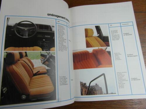 PROSPECT AUTOMOBILE BROCHURE PEUGEOT VENDEURS no 22 sortie 604 VERS 1975