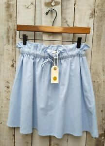 Nil-Tie-Waist-Blue-Cotton-Skirt-Size-S-Was-Selling-At-Anthropologie