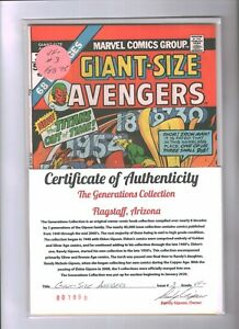 Giant-Size Avengers #3 (Dave Cockrum) Marvel Comics VF-   {Generations}