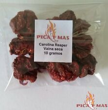 Carolina Reaper Dried Chilli Pods - Worlds Hottest Chilli Pepper - 10g