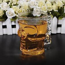 Crystal Skull Head Vodka Wine Shot Glass Drinking Cup Home Bar 500ML / 18oz R