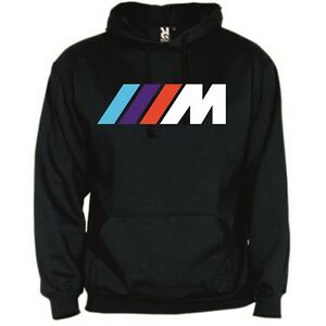 bmw m power top pullover hoodie sweatshirt new s m l. Black Bedroom Furniture Sets. Home Design Ideas