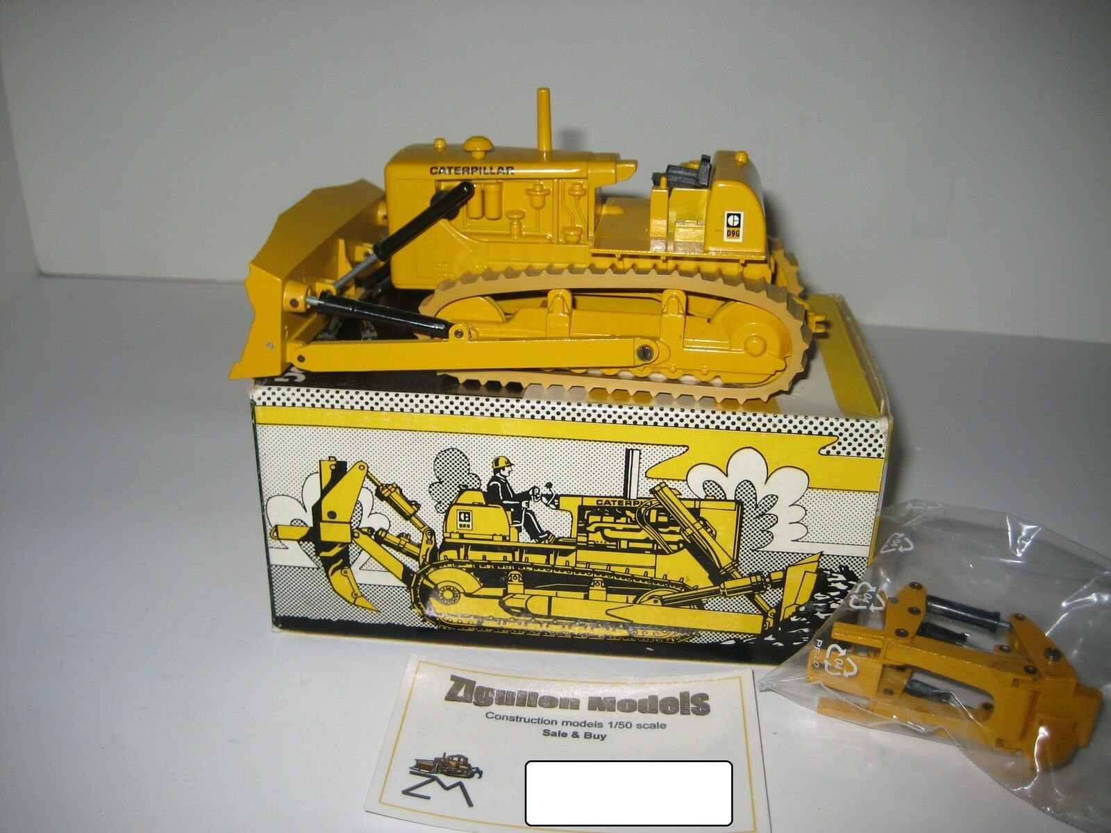 CATERPILLAR D 9 G Bouteur Ripper  2871.4 CONRAD 1 50 NEUF dans sa boîte