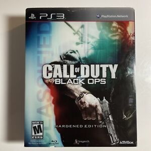 🔥Call of Duty: Black Ops Hardened Edition PS3 STEELBOOK W/ MEDAL & Sleeve🔥🎮🔥