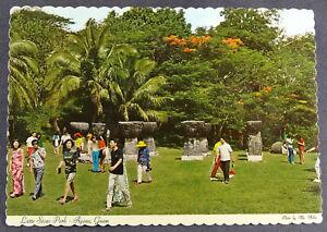 Guam Postcard 1972 Stone Park Agana Hagatna Latte Ebay