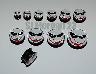 Various Sizes: 6 10 12 20mm Batman Earring Plug Stretcher 16 8 14