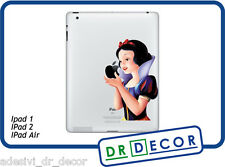 Adesivo Biancaneve per Apple Ipad & Ipad Mini Stickers Withe Snow Ipad