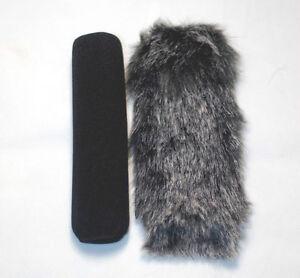 18cm-Fur-Windscreen-Windshield-For-Sony-ECM-670-678-680-ME66-Shotgun-Microphone