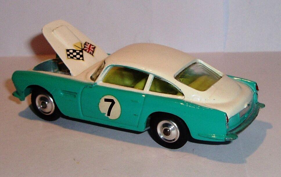 Corgi 309 1960's Aston Martin (competition) DB4 Mint in Near Mint Box
