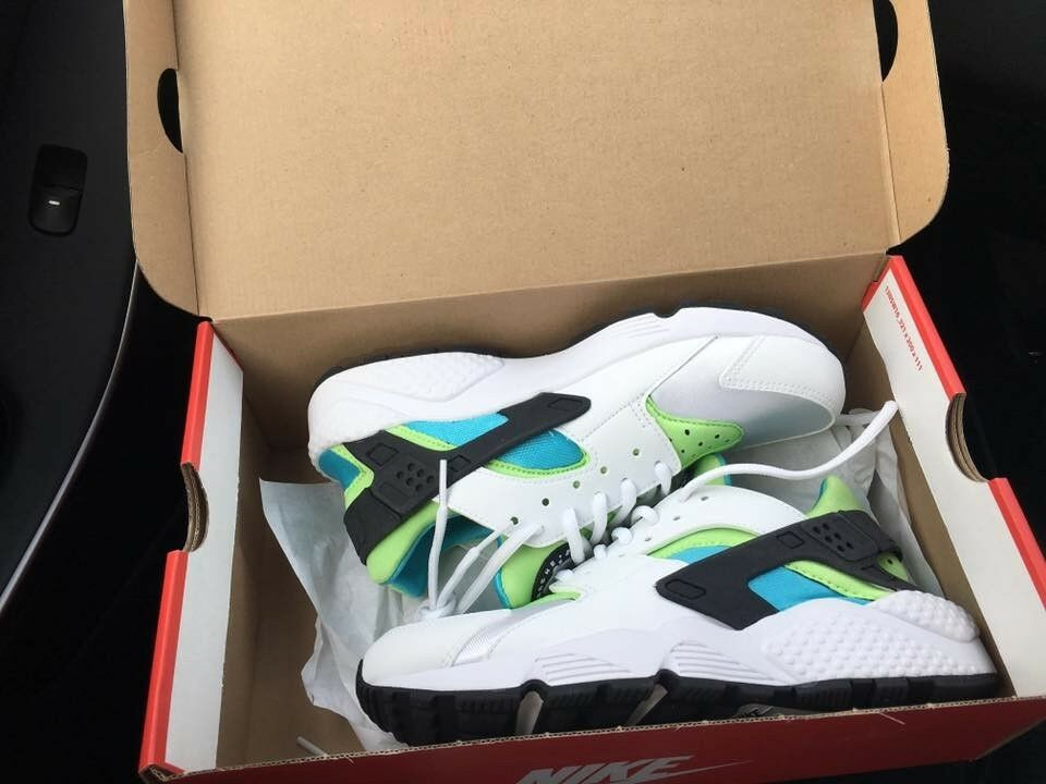 Nike air huarache donne, acqua limpida limpida limpida flash bianco calce, dimensioni noi 8,5 | Esecuzione squisita  | Maschio/Ragazze Scarpa  fbf52c