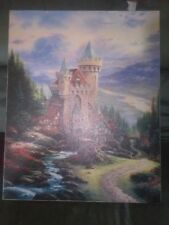 Thomas Kinkade Lithograph The Guardian Castle Canvas