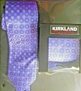 KIRKLAND SIGNATURE Silk Tie Made in Italy NEW