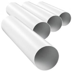 TUBO VENTILAZIONE canale di ventilazione TUBO DI SCARICO CANALE DI SCARICO PVC Dalap ø100//1000mm 1010
