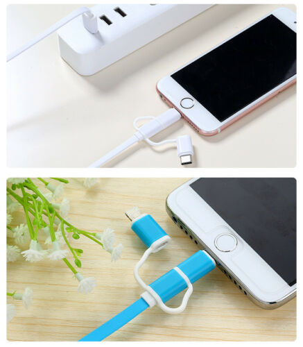 Type-C  Charging Cable Three-in-one Data Cable for Iphone Android Smartphone