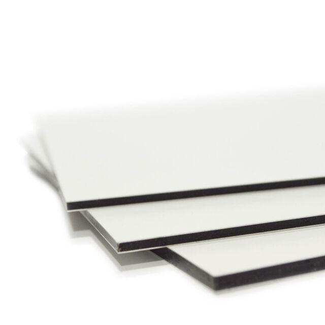 60x40cm Werbeschild Alu Verbundplatte Dibond 3mm