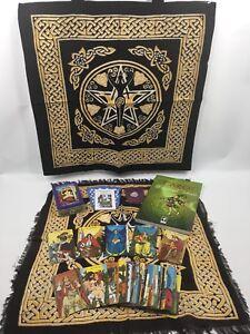 Morgan-Greer-Tarot-Set-PLUS-Goddess-Tote-And-Layout-Cloth-Quartz-amp-Bag-Book