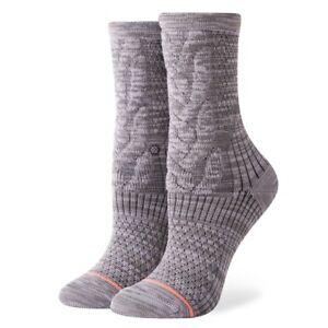 Stance-NEW-Women-039-s-Olivia-Socks-Heather-Grey-BNWT