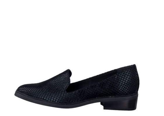 Tamaris Black Strut Loafers EU 3 EU 36 LN33 31