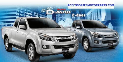 """FOR ALL NEW ISUZU DMAX D-MAX 2012-2014 LOGO FRONT RED Carbon /"""" ISUZU /"""" EMBLEM"""