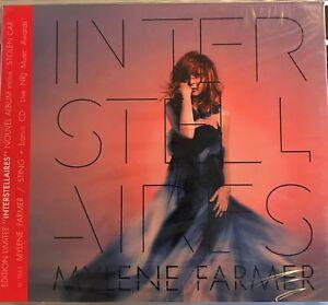 MYLENE-FARMER-034-Interstellaires-034-034-Bonus-CD-NRJ-Musics-Awards-034-RARE-2-CD