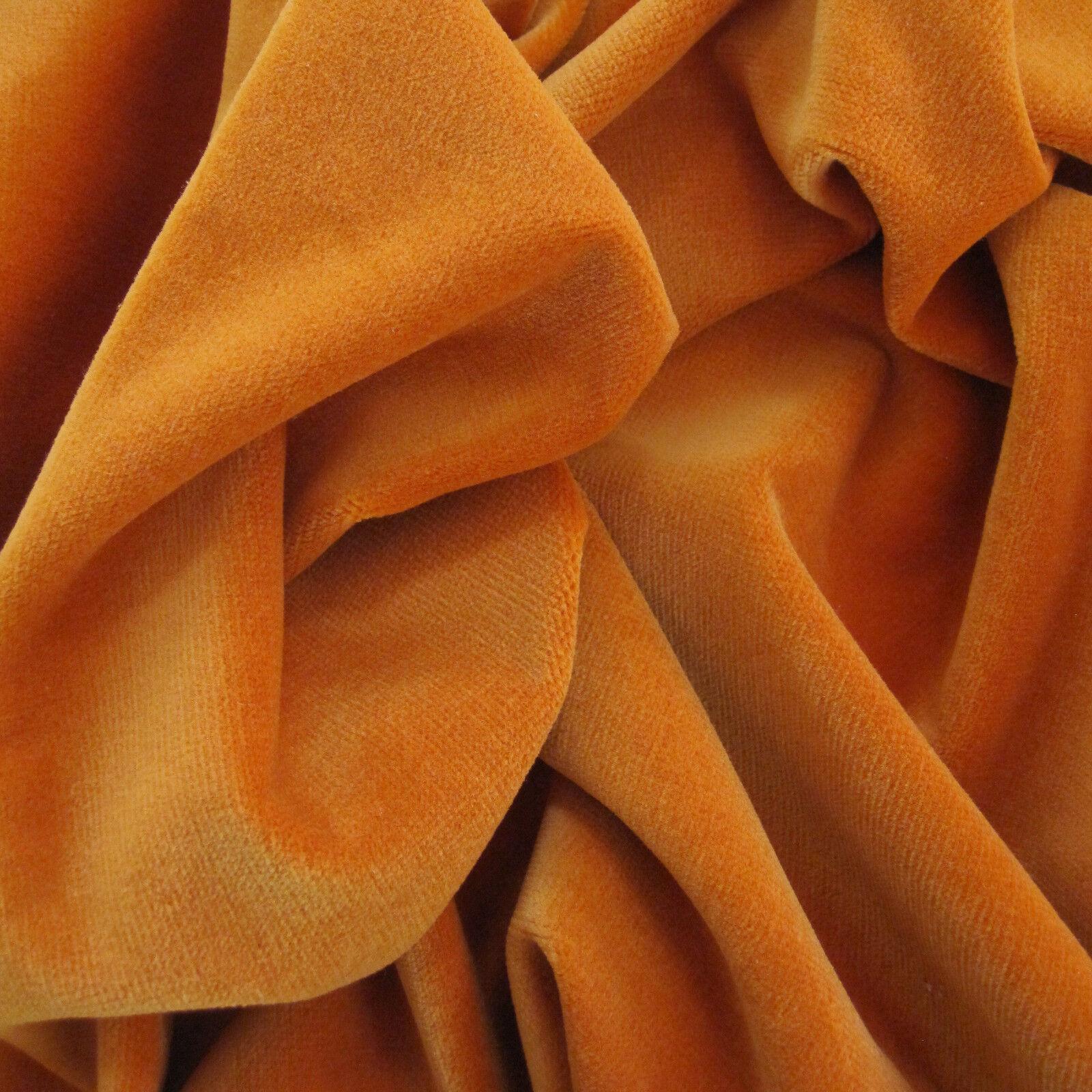 stoffdesigns   neue Üppigkeit TIZIAN    Traumsamt in Orange von JAB 7d407e