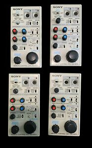 Sony RM-M7G broadcast Camera Video Remote Control Unit lot of 4