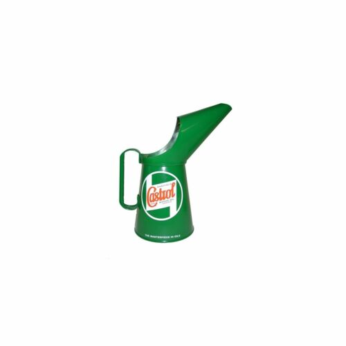 1 x Castrol Classic Pouring Jug 2 Pint Imperial Size Classic Decal Accurate