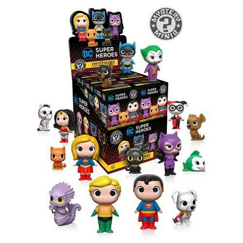 DC - Super Heroes & Pets Mystery Minis Blind Box - Set of 12 NEW Funko