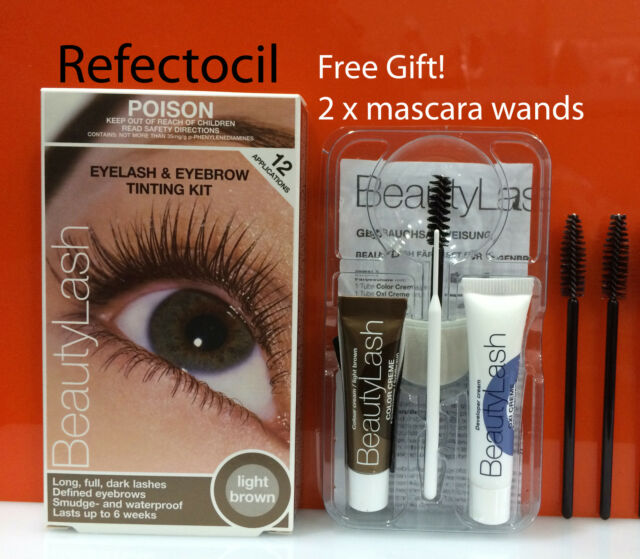 Refectocil Eyelash Eyebrow Tint Kit 31 Light Brown Mascara
