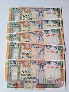 SOMALIA 50 Shillings X 1000 PCS 1991 P-R2 Brick UNC Uncirculated