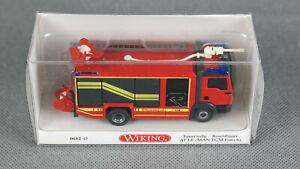 AT LF MAN TGM Euro 6//Rosenbauer Wiking 1//87 061245 Feuerwehr OVP NEU