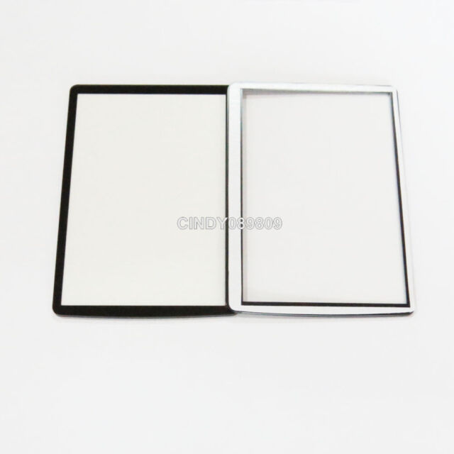 New Window Outer Glass Screen For Canon EOS 550D Rebel T2i LCD + Tape adhesive