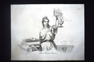 Incisione-d-039-allegoria-e-satira-Giustizia-dell-039-uomo-e-di-Dio-Don-Pirlone-1851
