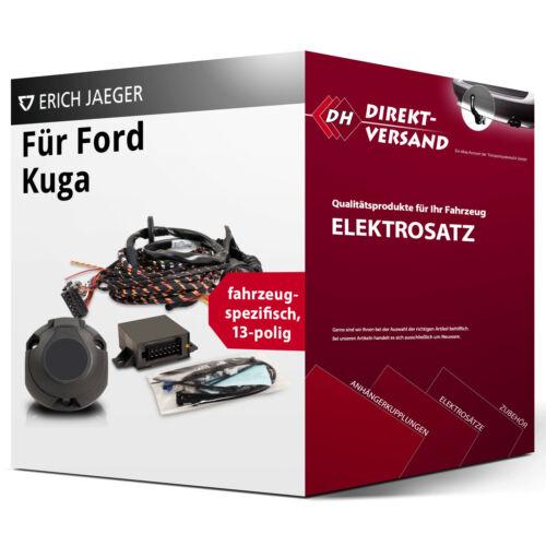 EBA neu Ford Kuga I Elektrosatz 13polig spezifisch top Esatz inkl