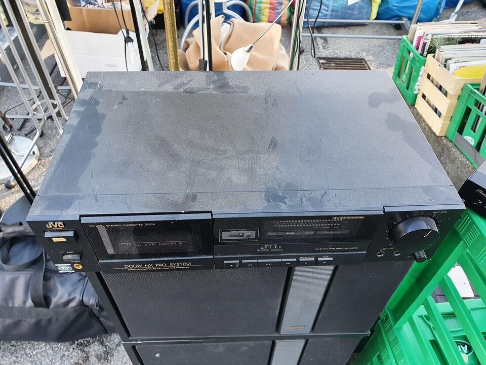 Båndoptager, JVC, TD-x321 stere cassette deck