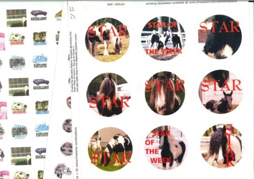 parties 170 Romany Gypsy Traveller children/'s stickers Trav scenes vardos grais