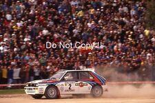 Didier AURIOL LANCIA DELTA HF INTEGRALE RALLY PORTOGALLO fotografia 1992 2