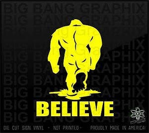 image is loading sasquatch big foot vinyl die cut decal sticker