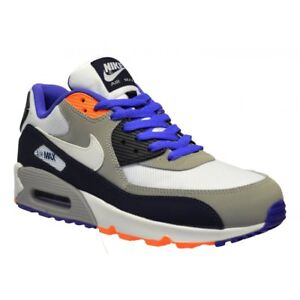 Details about Nike Air Max 90 Mesh (GS) Obsdn White Violet (N16) 724824 400 Older Boys