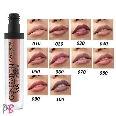 Catrice Generation Matt Comfortable Liquid Lipstick Nude Matte Velvet *Vegan*   eBay