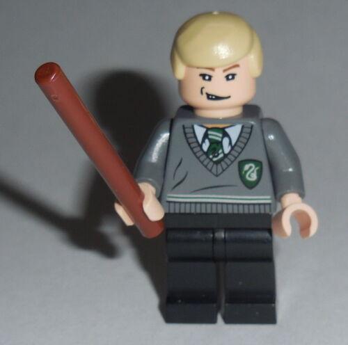 HARRY POTTER #01 Lego Draco Malfoy NEW Slytherin Shield 5378-4891 Genuine Lego