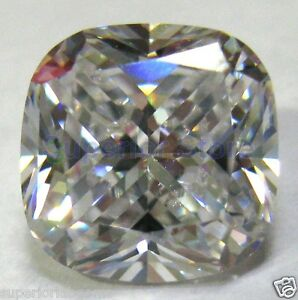 10-x-10-mm-6-01-ct-CUSHION-Cut-White-Sim-Diamond-WITH-LIFETIME-WARRANTY