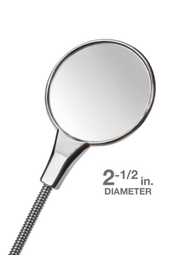 "19/"" TEKTON Flexible Inspection Miroir 2-1//2/"" Round 7613"