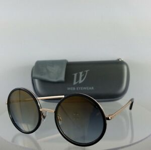 Brand New Authentic Web Sunglasses WE 200 Col. 01G Black Gold 52mm ... 65ab481e85