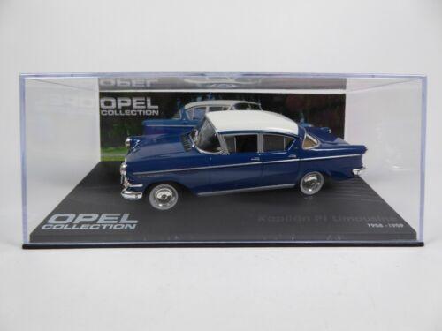 3 MODEL CAR AUTO OPEL Kapitan P1 Limousine 1//43 Voiture Miniature Eaglemoss