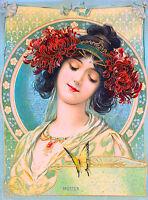 Muster Vintage French Nouveau France Poster Print Art Advertisement
