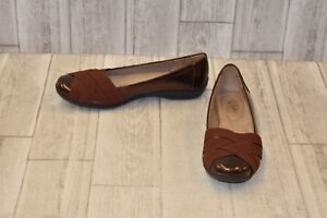 LifeStride-Daisie-Flats-Women-039-s-Size-9-5-M-Copper